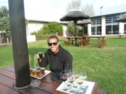 Our attempt to do a beer/wine tasting failed the first time through Stellenbosch, but we redeemed ourselves and did it on the way out of the Eastern Cape.