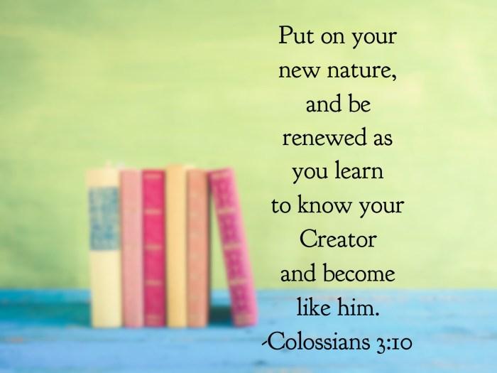 Colossians 3:10