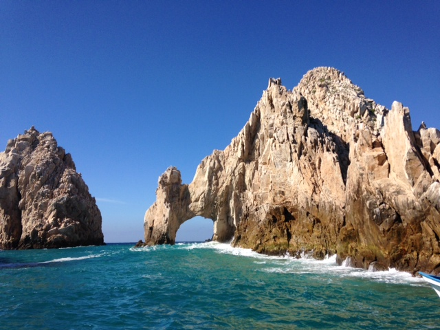 View of Cabo Arches from Boat