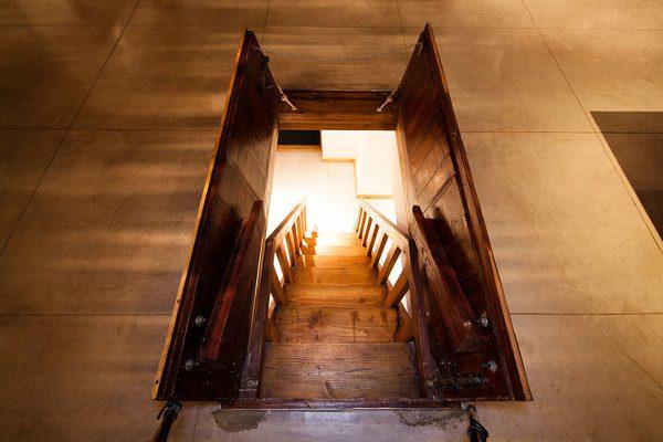 Cellar trap door