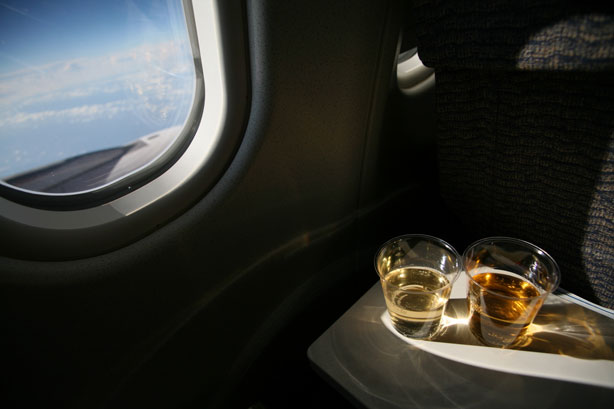 What's your airplane drink? Some suggestions