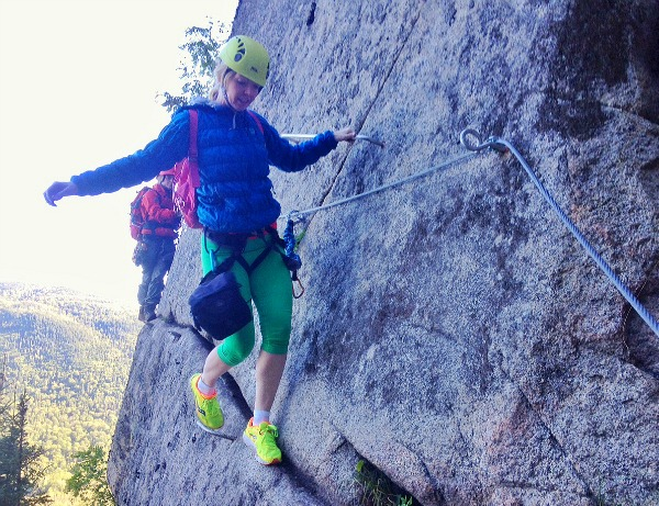 Where I almost peed my pants: Via Ferrata in Saguenay Fjord National Park