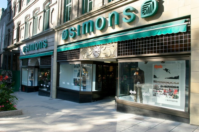 Simons department store