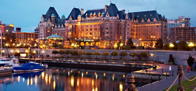 Empress hotel inner harbour