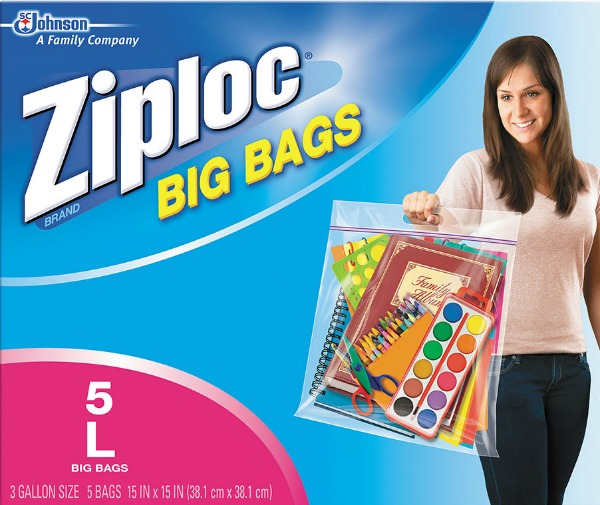 large zip lock bag