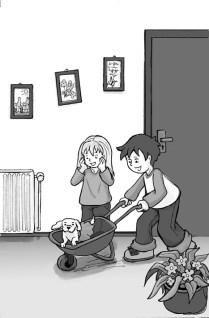 6---Hundschieben