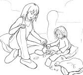 Mutter-spielt-mit-Kind