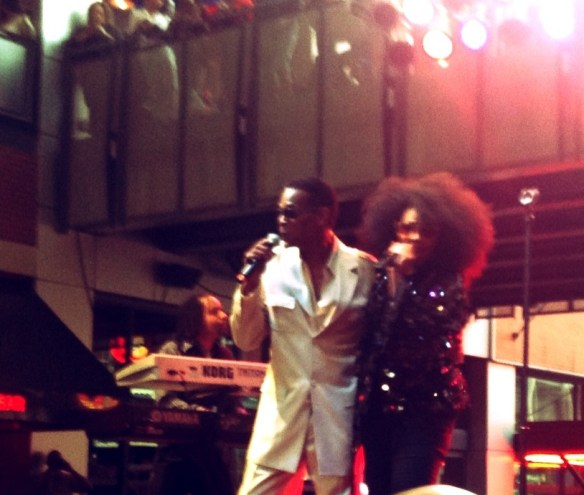Original Shalamar Male Lead Gerald Brown and Jody Watley
