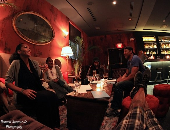 Post show - chill nightlife with band in hotel lounge.