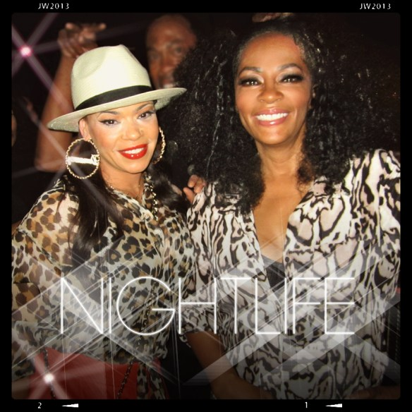 Nightlife at Giorgio' with R&B Diva Faith Evans.