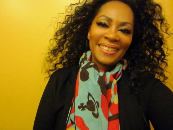 Retail Therapy. I love my scarf - 60% off Vivenne Westwood - longtime style favorite! © 2014 Jody Watley Images