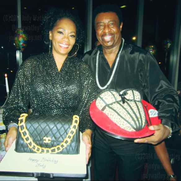 Sharing a birthday dinner party with music legend Dennis Edwards and fellow Aquarian - what a trip and honor..will always cherish the experience. © 2014 Jody Watley