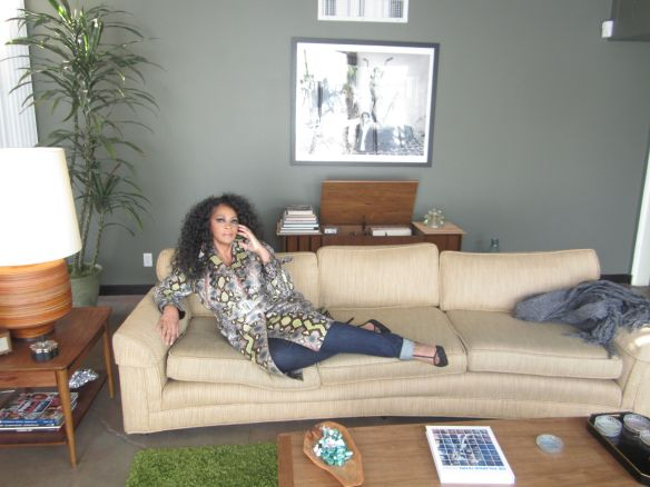 Jody Watley V Magazine Candid - © 2014 Jody Watley Photo Taken By: Wallace Butts
