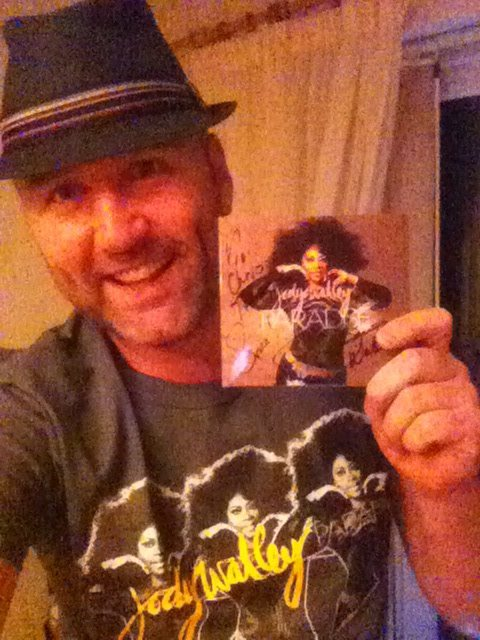 """Chris Keen, UK """" A total joy to receive my Paradise CD & T-shirt combo! LOVE the message throughout the new music, Jody....life is for living! #LiveIt #EnjoyIt #BeFabulous """""""