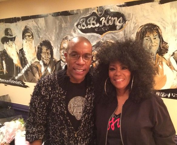 Patrick Riley with Jody Watley