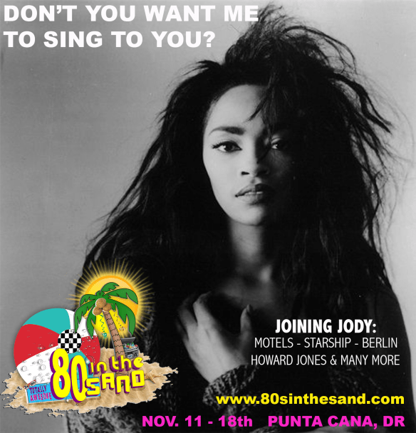 Jody Watley Dont You Want Me 80sintheSand