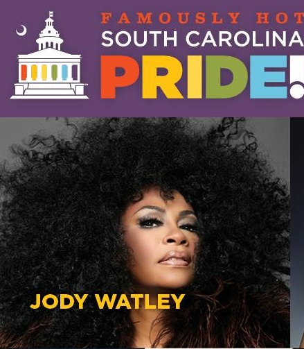 jody watley south carolina pride