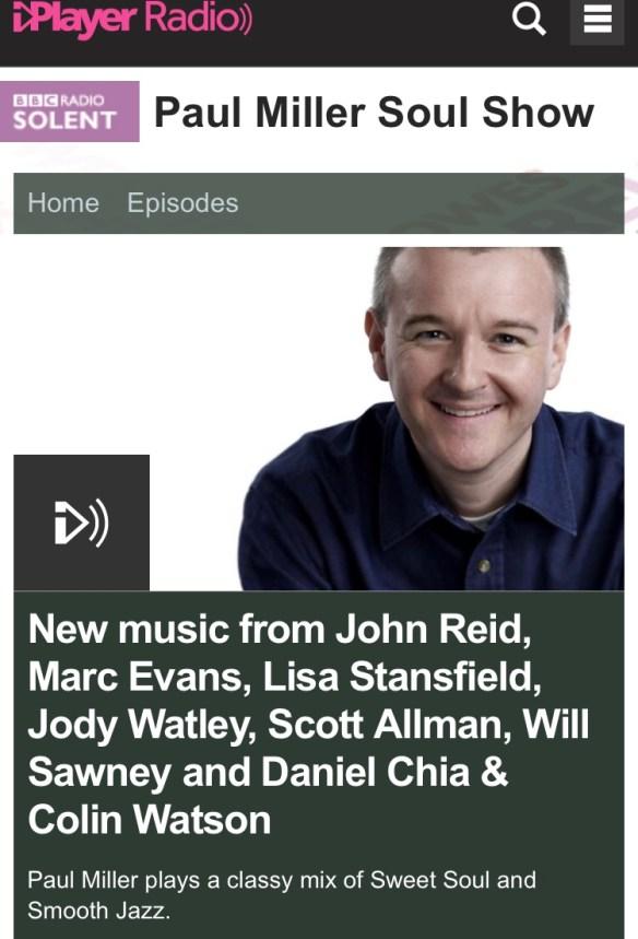 Jody Watley SRL Paul Miller BBC