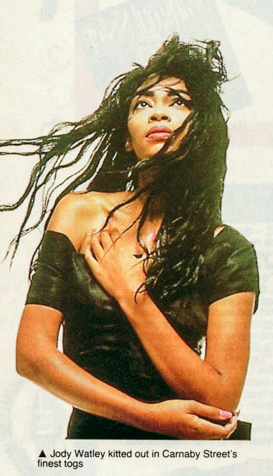 jody watley vintage dress uk magazine smash hits - style icon
