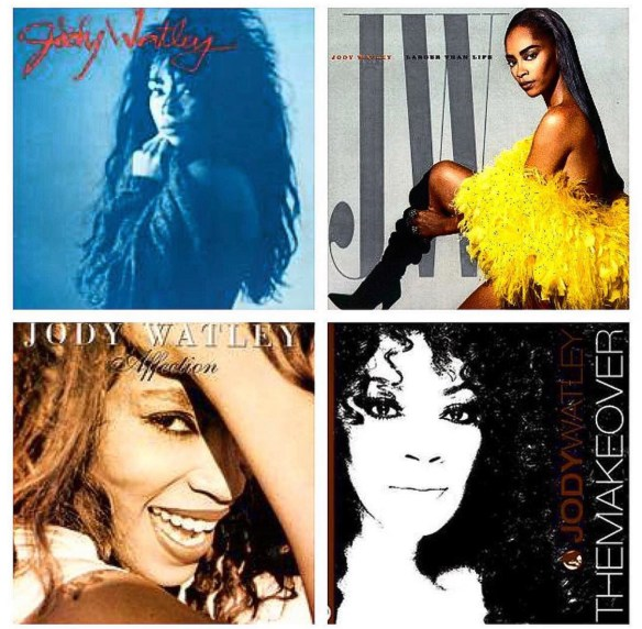 Jody Watley 4 albums Collage IG