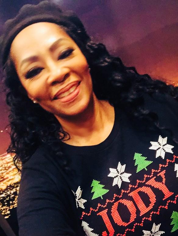 Jody Watley - Holiday T-shirt SnowandXmasTrees