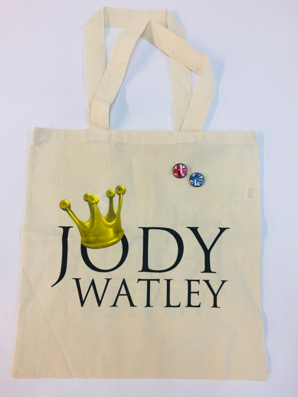 Jody Watley Queen Logo Tote