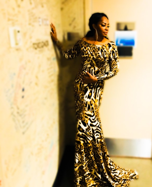 Jody Watley Stevie B I Luv Stevie Gown - Animal Print - Colors of Christmas