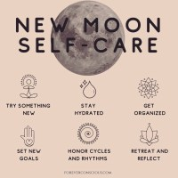 Monday Wattage Thoughts. New Moon Self Care.