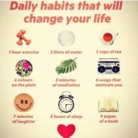 Wellness. Daily Habits.