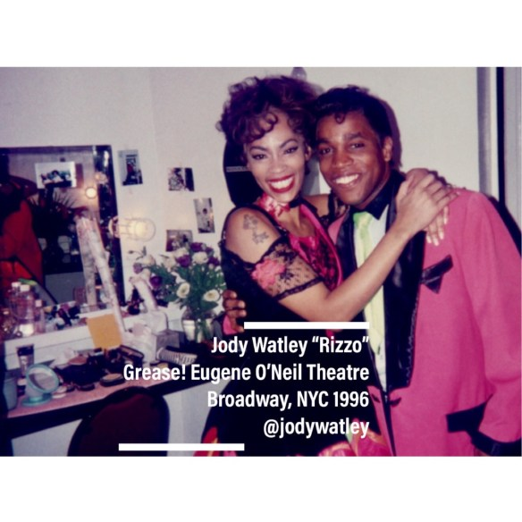 Jody Watley as Rizzo Broadway - with Ty Taylor