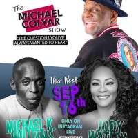 Jody Watley Talks With Comedian and Actor Michael Colyar on Instagram Live