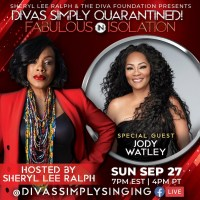 Grammy Winning Music and Style Icon Jody Watley Joins Sheryl Lee Ralph For Divas Simply Quarantined! Fabulous In Isolation