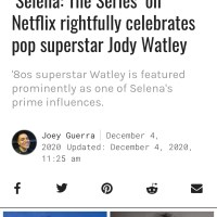 'Selena-The Series On Netflix Rightfully Celebrates Pop Superstar Jody Watley - Houston Chronicle