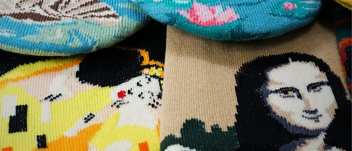 New fake socks now in stock - masterpieces all