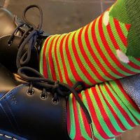 New Christmas socks have arrived - stock up now!