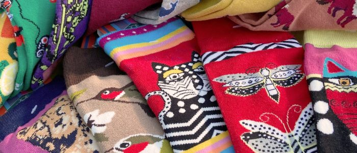 New sock designs now in stock  - socks are serious business!