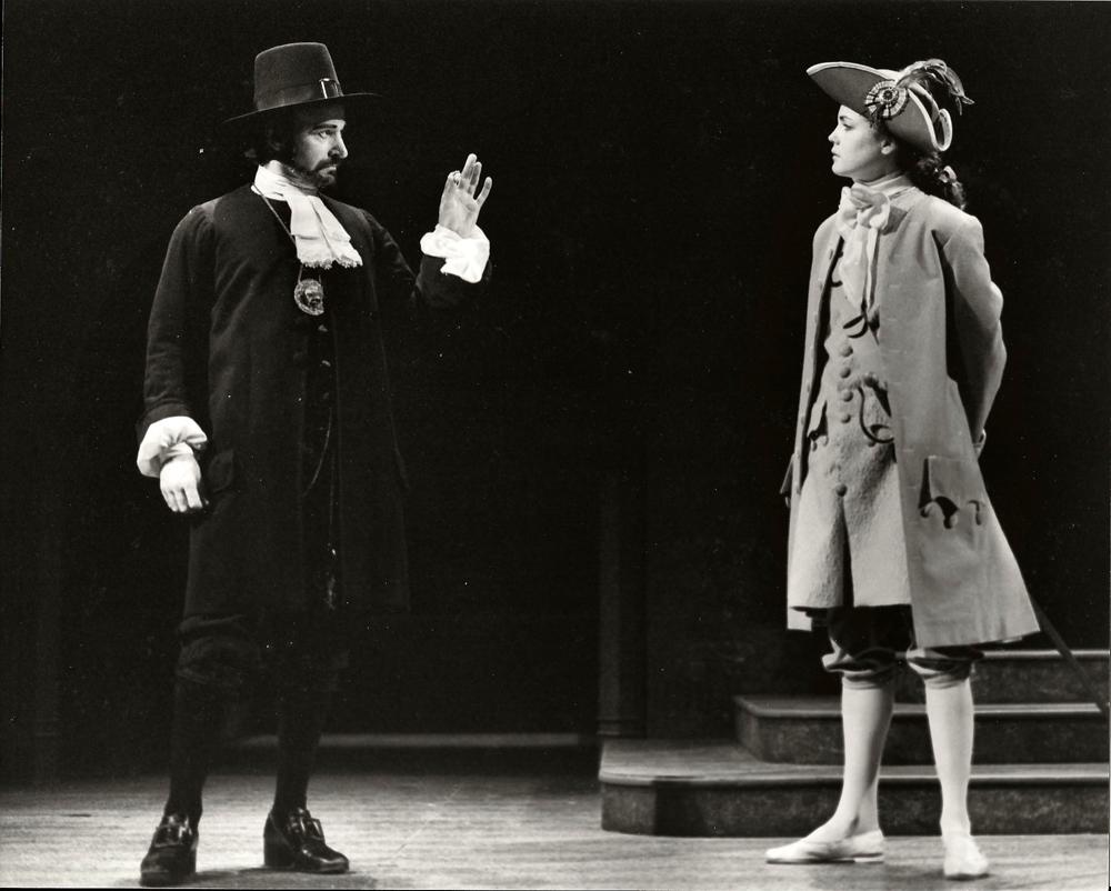 "Elizabeth McGovern and Joe Costa in ""Twelfth Night"""