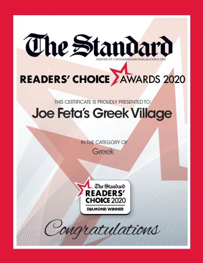 The Standard Reader's Choice 2020 Diamond