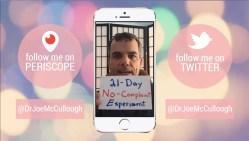 21-day no-complaint experiment capture
