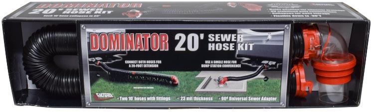 This is the highly rated Dominator RV Sewer Hose Kit