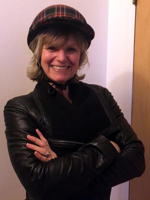 How To Start Your RV Living Adventure: Tips for Down-Sizing and Getting Organized. Zee in her Yakkay cycling helmet!