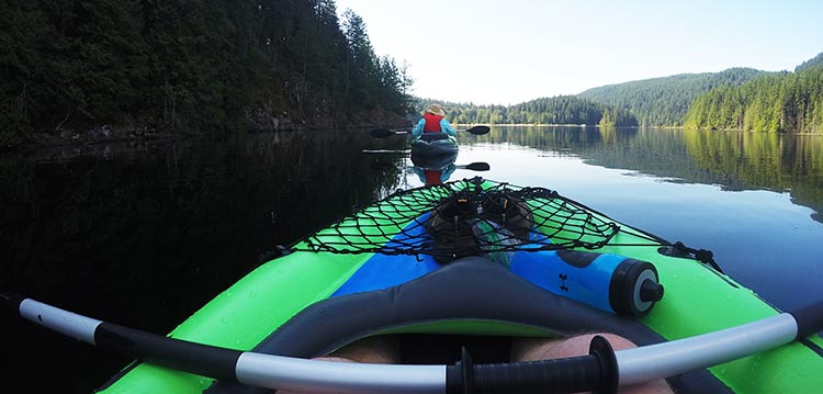 Review and Assembly of the Intex Challenger K1 Kayak – the Best Lightweight, Budget, Inflatable Kayak for RV Living. The actual kayaking was great fun!
