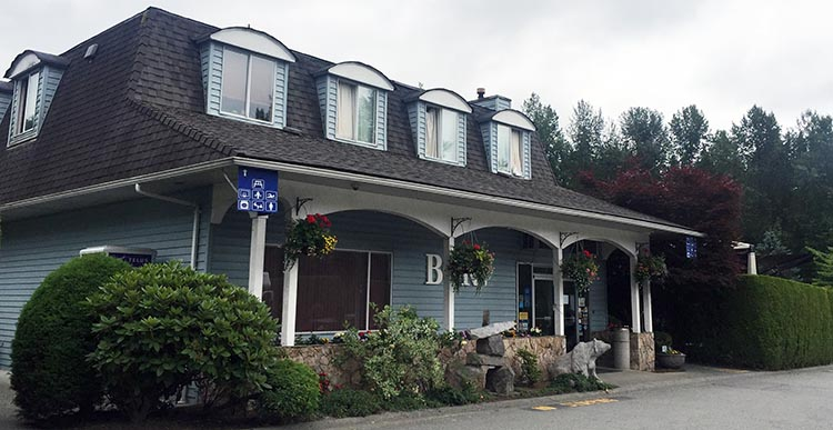 Review of the Burnaby Cariboo RV Park, Near Vancouver. The office at Burnaby Cariboo RV Park is open till 10 each night, and sells a good variety of food and other goods. Unfortunately, the staff are impersonal at best