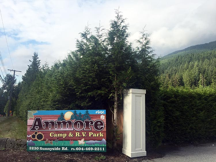 Biking and Hiking Near the Anmore RV Park in the Buntzen Lake Area, British Columbia. This month we are staying at Anmore RV park in Anmore, British Columbia