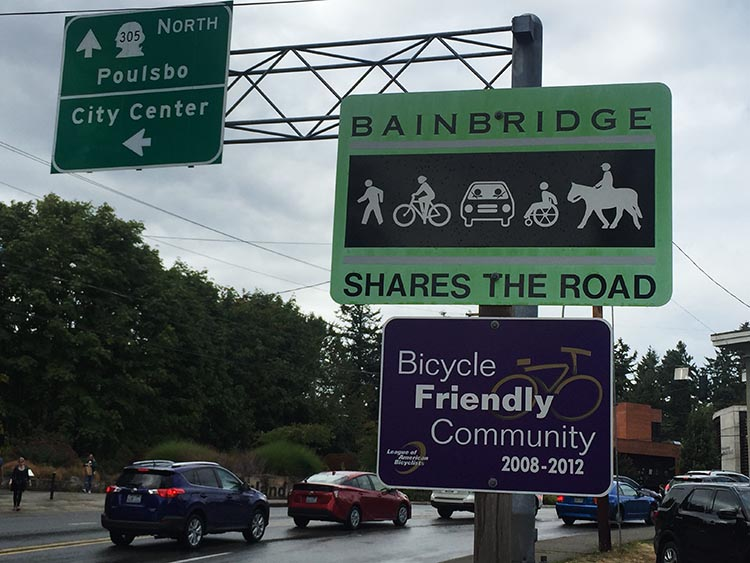 What Can You Do When Your RV is Having Repairs? Bainbridge Island turned out to be a lovely, bike-friendly island