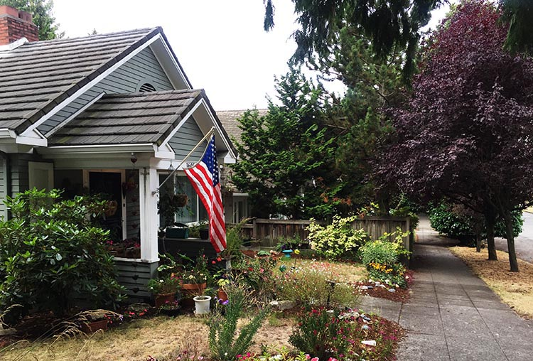 What Can You Do When Your RV is Having Repairs? The neighborhood was full of craftsman-style houses
