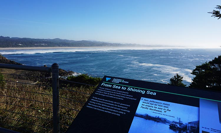 Our Experience of RV Camping at Beverly Beach and Humbug Mountain State Parks, Oregon Coast. First we admired the sea views
