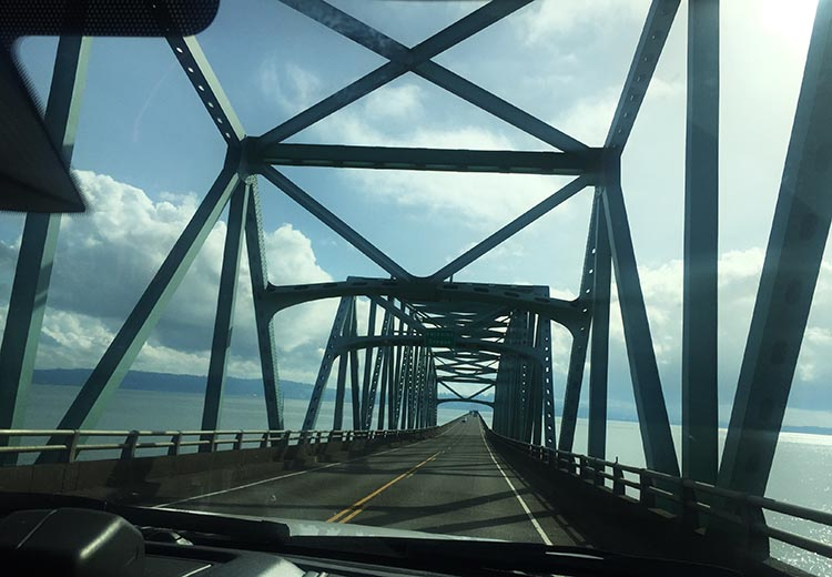 Our Trip to Fort Stevens State Park, Oregon. Our RV adventure begins! The Astoria-Megler Bridge is one of the longest and most impressive bridges in the world, crossing the Columbia River and linking Washington to Oregon