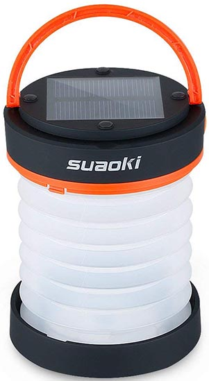 Simple RV Upgrades: Three Solar Lights for RV Living Compared - Video and post. Suaoki Camping Lantern