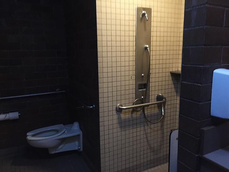 Review, video and photos of the Humbug State Park. The disabled washroom at Humbug State Park is quite luxurious